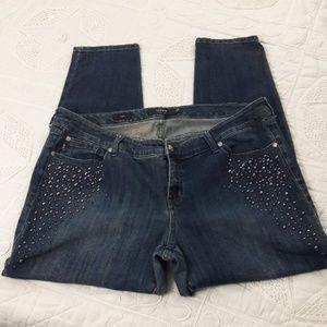 Torrid Embellished Stud Skinny Jeans Sz. 20
